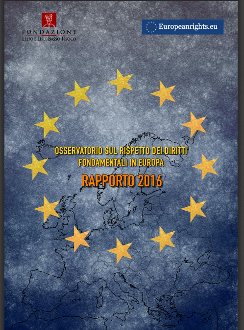 Report on human rights in Europe 2016