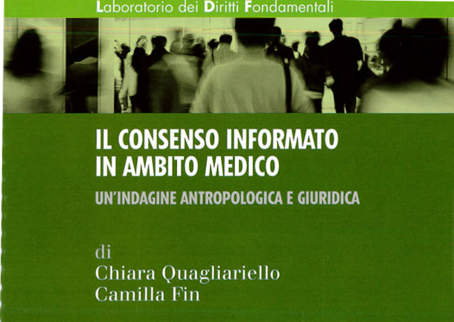 """Report on """"Informed consent in the medical field"""""""