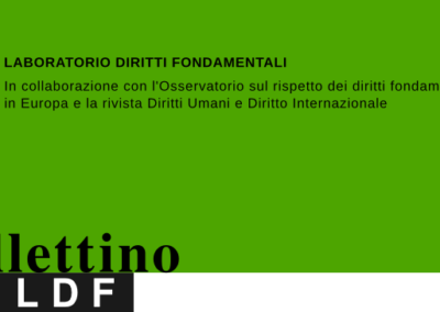 Bollettino n. 25 – luglio 2018