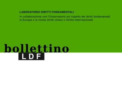 Bollettino n. 29 – marzo 2020